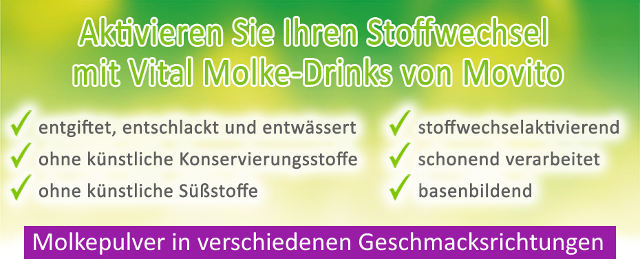 Molkepulver aus deutscher Herstellung