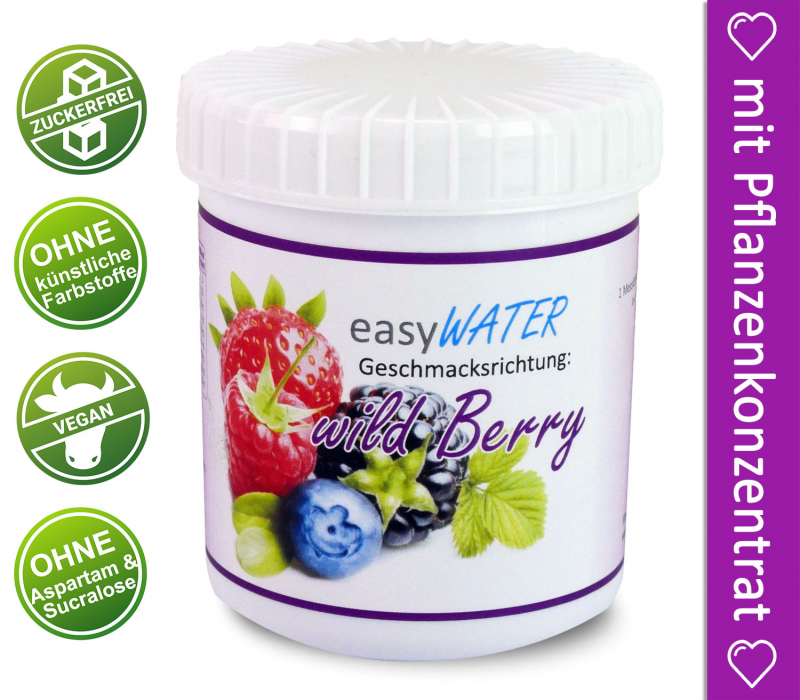 wild Berry - easyWater - 25 Portionen